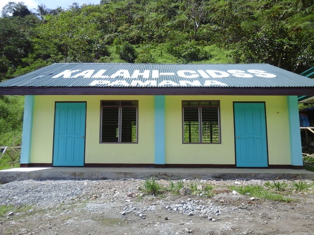 Villagers of Upper Ulip, Mt. Diwata produced a gem costlier that gold - this classroom building - through their own effort with a little help from the government, which will ensure their children's journey to education.
