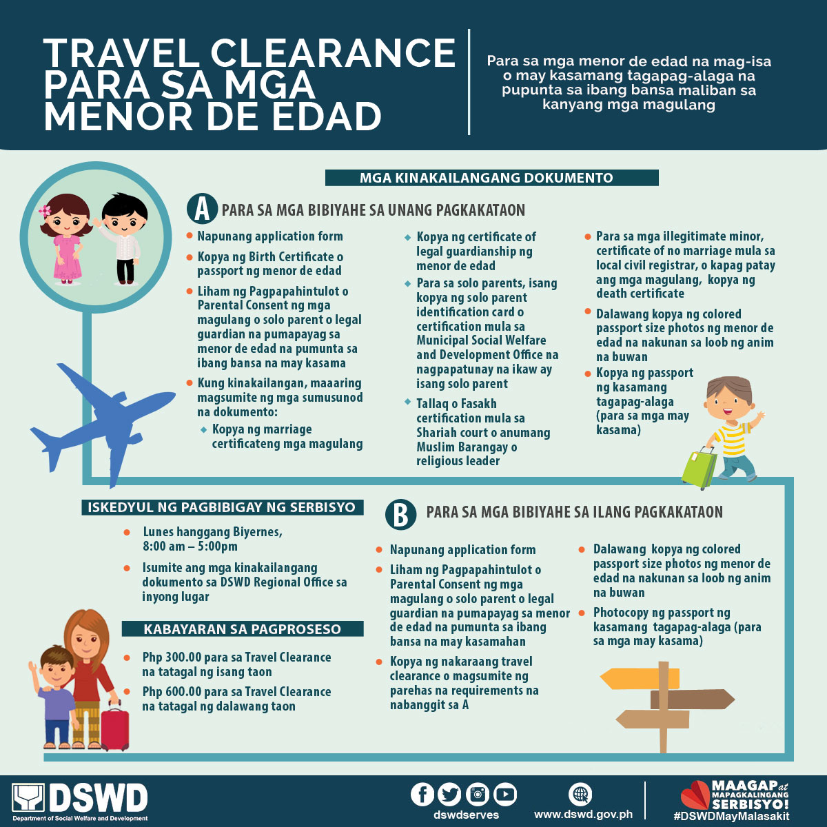 Travel Clearance for Minors
